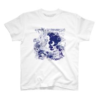 閑かな天使 T-shirts