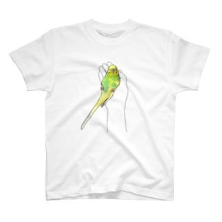 ねむねむインコ T-shirts