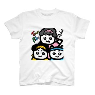 ちーむ☆ぽこ T-shirts