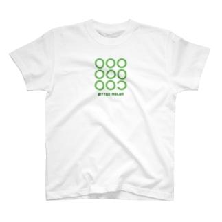 ゴーヤの輪切り T-shirts