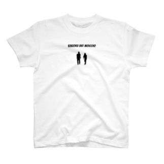 金属黒シルエットT ノーマルディスタンスver.  T-shirts