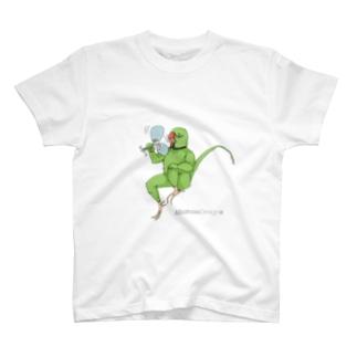 ワカケおじさん・暑中見舞い(ソロ) T-shirts