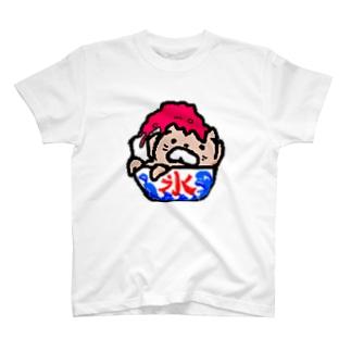 かき氷たろしゅ T-shirts