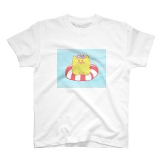 泳ぐねこ T-Shirt
