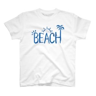 ビーチ T-shirts