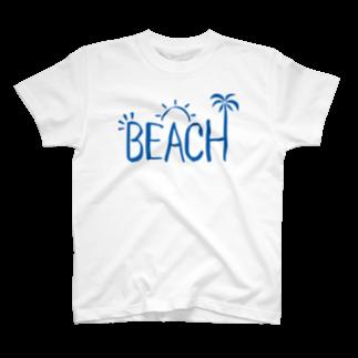 ワカボンドのビーチ T-shirts
