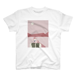 ピンクのおやまに T-shirts