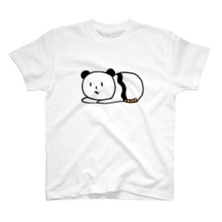 パンダねこのTシャツ T-Shirt