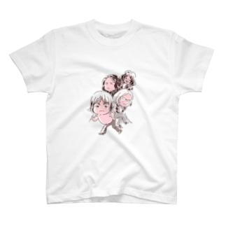 東海岸デストロイバンド T-Shirt