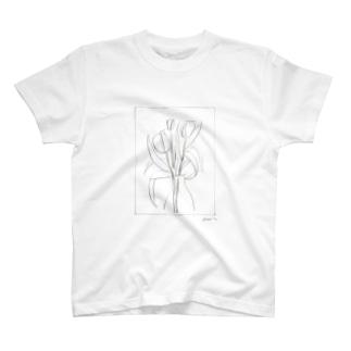 チューリップと T-shirts