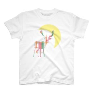 月欠けでかロゴ T-Shirt