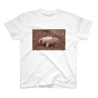 羊1-taisteal-タシテル- T-shirts