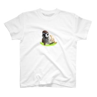 スズメのキリちゃん「なにか?」 T-shirts