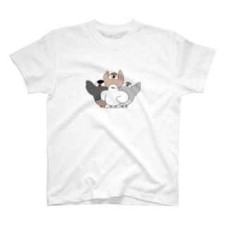 文鳥戦隊 T-Shirt