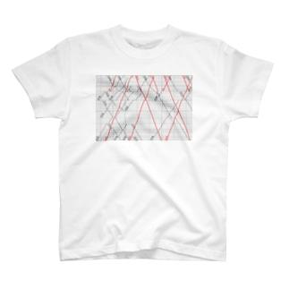鉄道ダイヤグラム T-Shirt