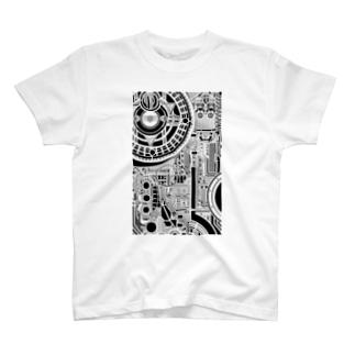 mosaic No,0 T-shirts