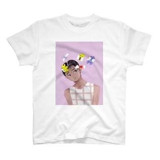 天使と交信 T-Shirt