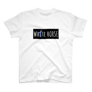 ダサいガッツポーズシリーズ(WHITE HORSE) T-Shirt