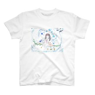 *水中少女* T-shirts