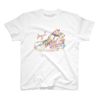 【限定】天使の羽根/スニーカー T-Shirt