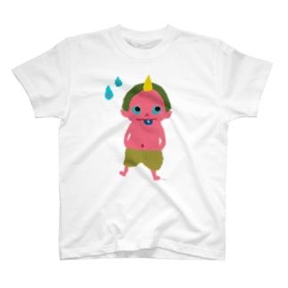 おばけTシャツ<でっかい天邪鬼> T-Shirt