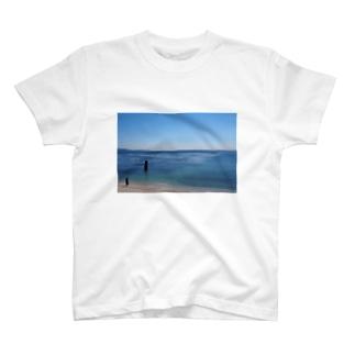 グラフィック海 T-Shirt