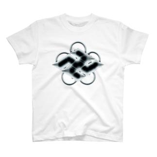卍五ツ灰 弐 T-Shirt