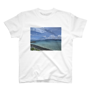 鳩間の海 T-shirts