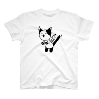 ぎっくり腰猫 T-shirts