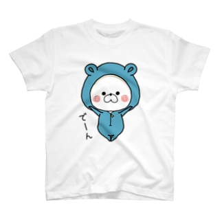 くまぽこのでーんT T-shirts