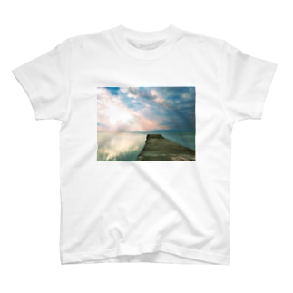 魅惑の 竹富島 西桟橋 T-shirts