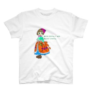 Flower picking T-Shirt