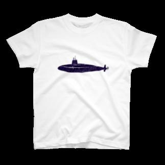NIKORASU GOの潜水艦 T-shirts