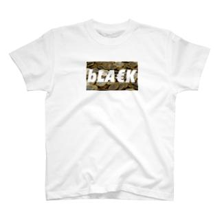 bLA€K T-shirts