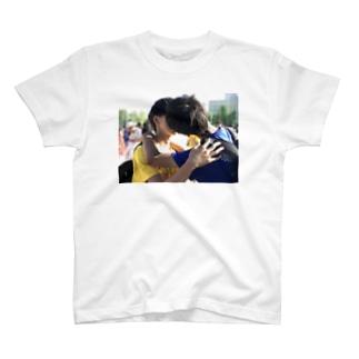 月とスッポン T-shirts