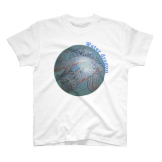 Water dragon T-shirts