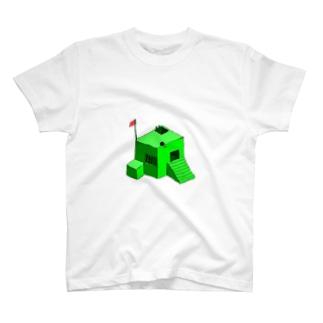 砦 T-shirts