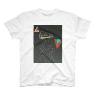 黒まっしゅ君。 T-shirts