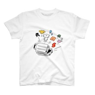 ねむみ再確認君と旅支度 T-shirts
