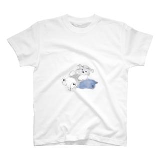 シュナウザーポイント T-shirts