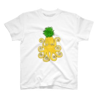 オクトパイン02 T-shirts