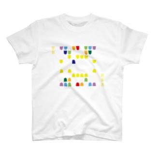 すなむーTレインボー T-Shirt
