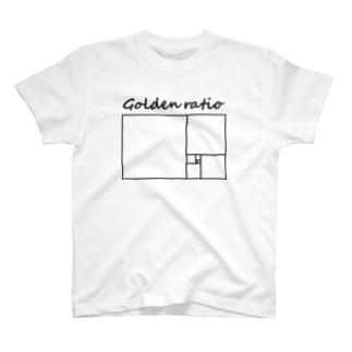 黄金比 T-shirts