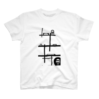 抽象boy「City」 T-shirts