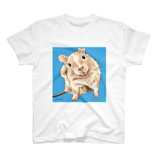 もふもふデグーシリーズ T-Shirt