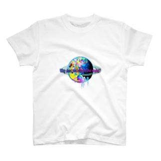 世界を塗り替えてみないか?グッズホワイト T-shirts