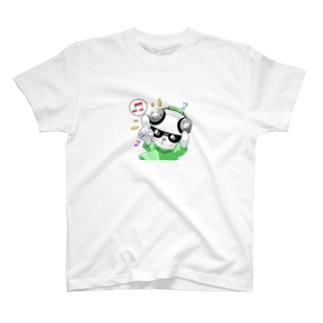シロクマDJのノリノリしろくま T-Shirt