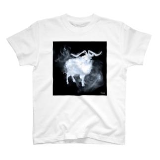 smoke_goat T-shirts