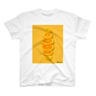 輪切り.com -オレンジ- T-Shirt