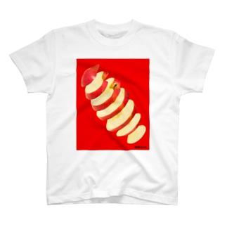 輪切り.com -リンゴ- T-Shirt